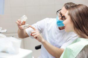 консультация пациента после имплантации ALL on 4
