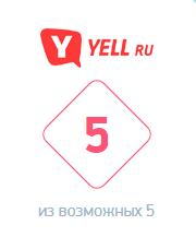 Рейтинг yell ru