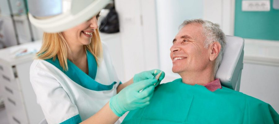 Посещение стоматолога после протезирования all on 4